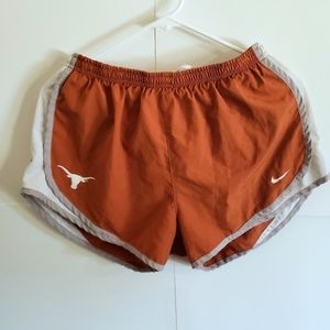 Orange texas longhorns women shorts size medium